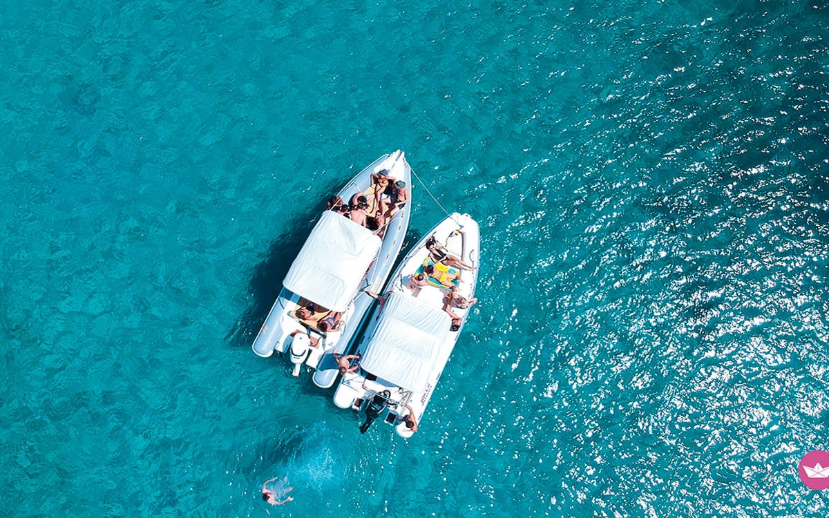 yacht-rental-platforms-clicknboat-rib-aerial-view