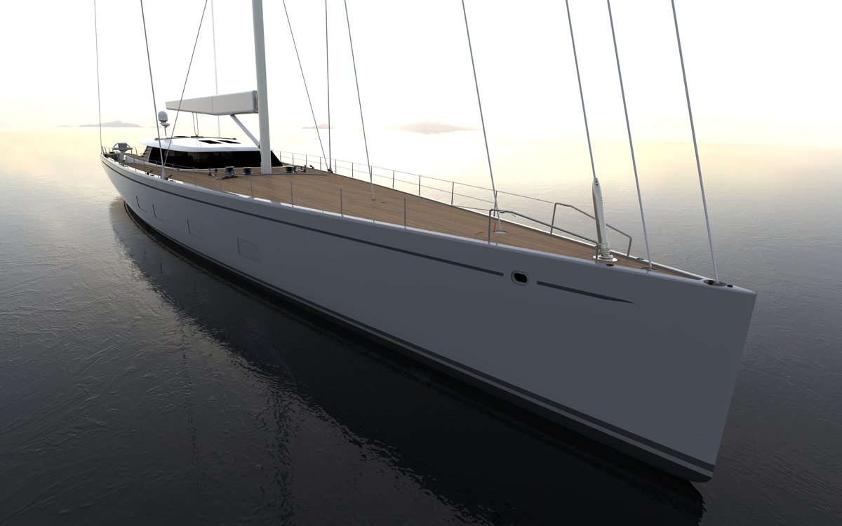 Baltic 142: The superyacht bringing foiling technology into