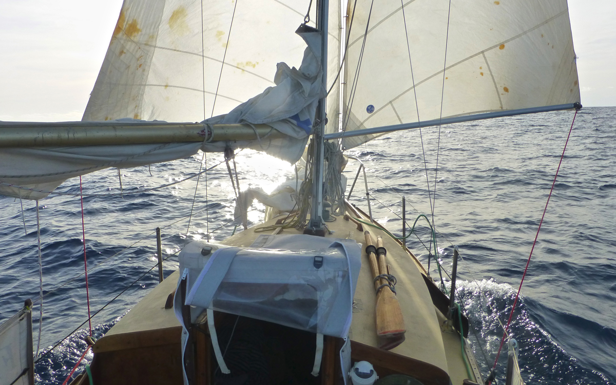 Life-changing voyage: Sailing solo across the Atlantic in a 22ft sloop