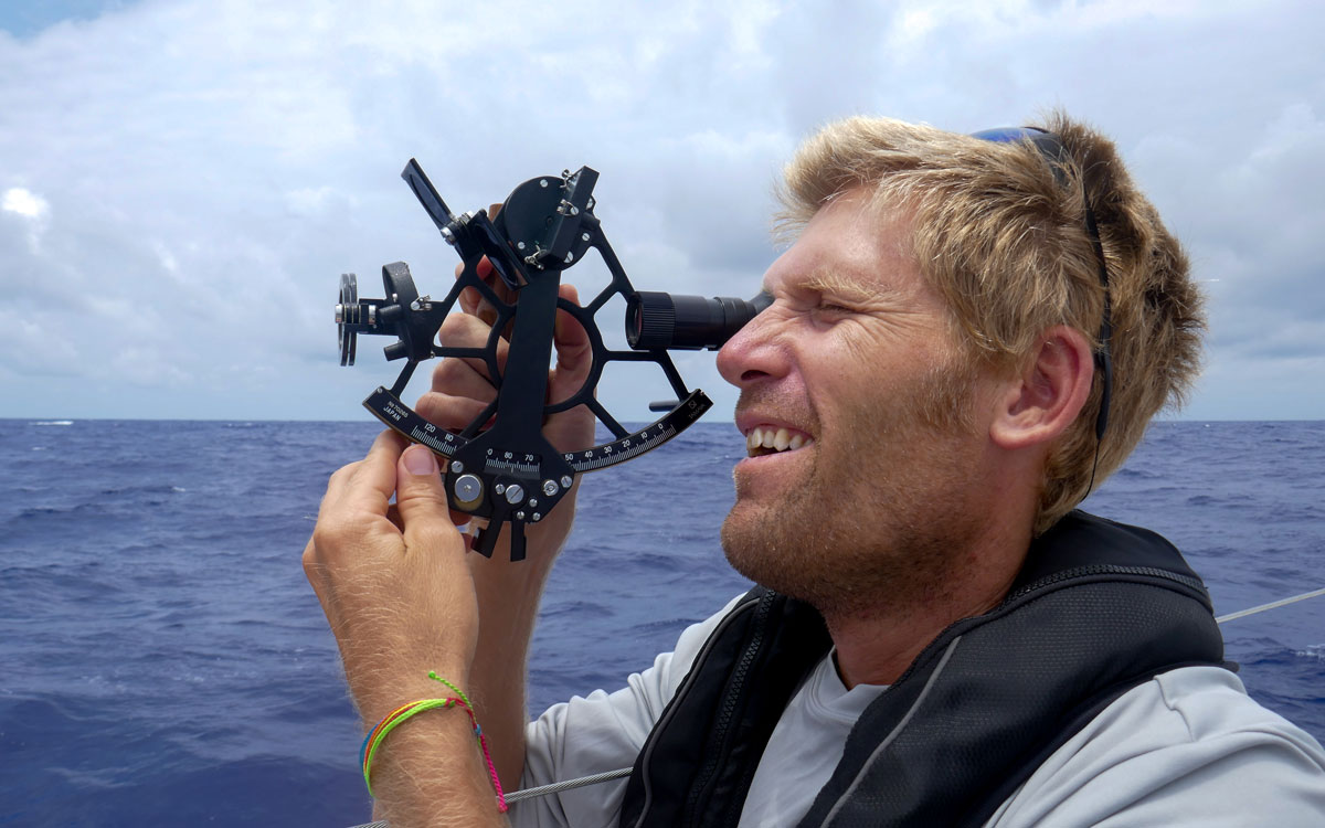 Back to basics: Ocean sailing by celestial navigation alone
