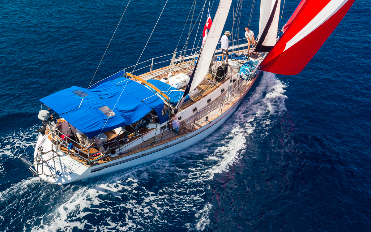 Shade and ventilation: How to keep your yacht cool and dry in the tropics