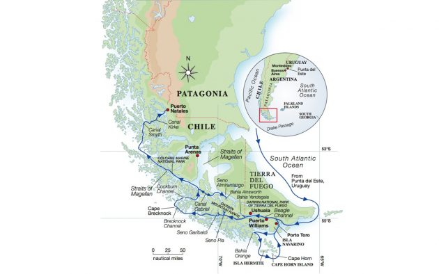 Sailing around Cape Horn on the world\'s largest ketch Aquijo