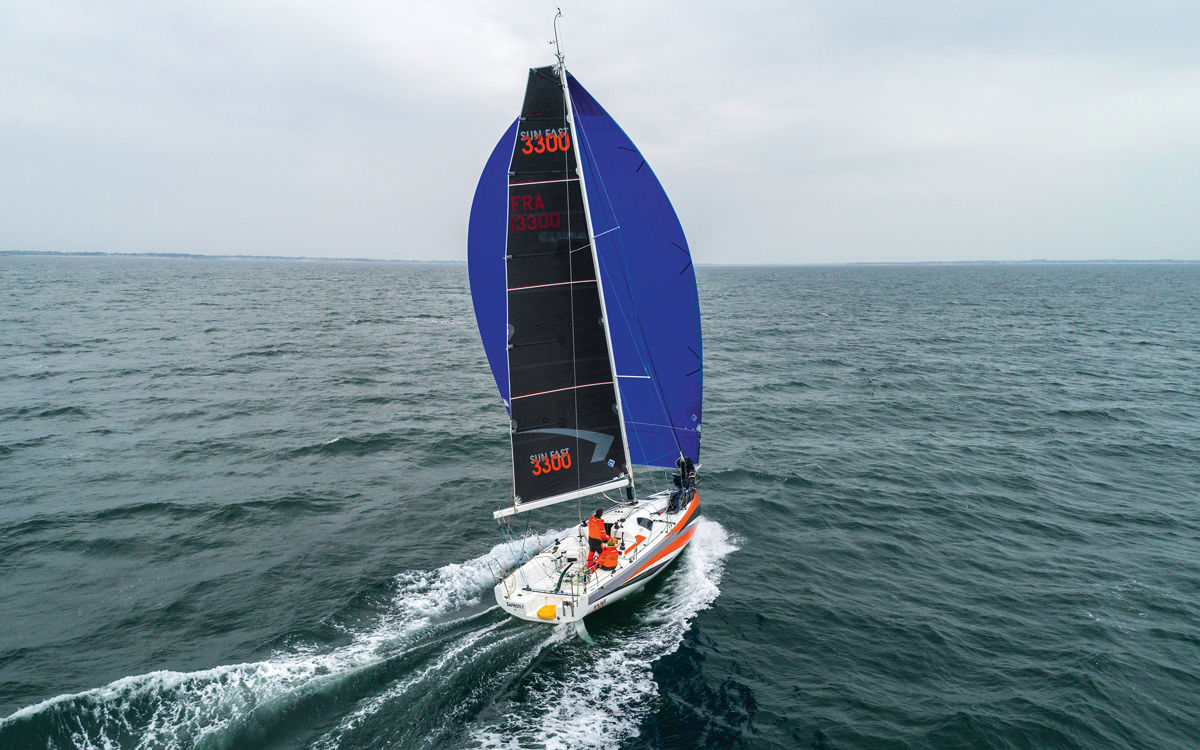 Jeanneau Sun Fast 3300 review: Pocket rocket inspired by foiling IMOCAs
