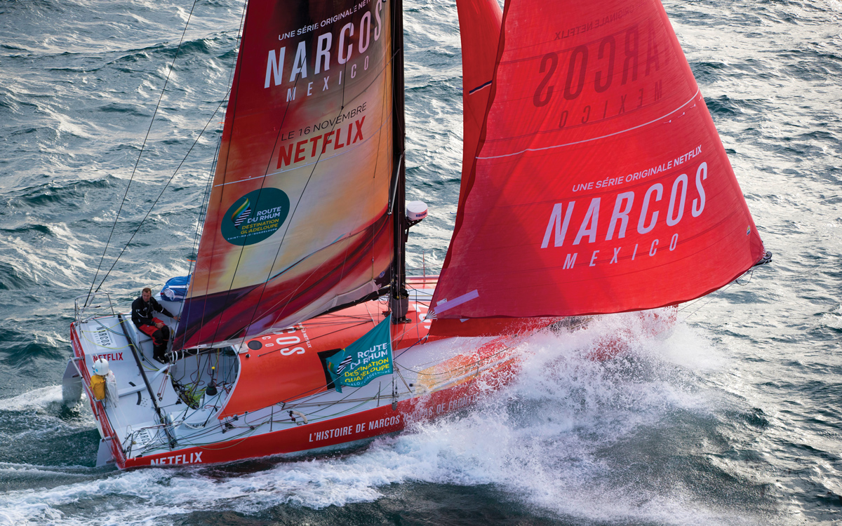 offshore-racing-preparation-Sam-Goodchild-Narcos-mexico-2018-route-du-rhum-credit-Alexis-Courcoux