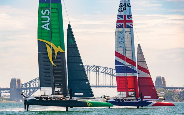 The boats are expected to be 10-15% faster than when they were sailing as AC50s, reaching 53 knots