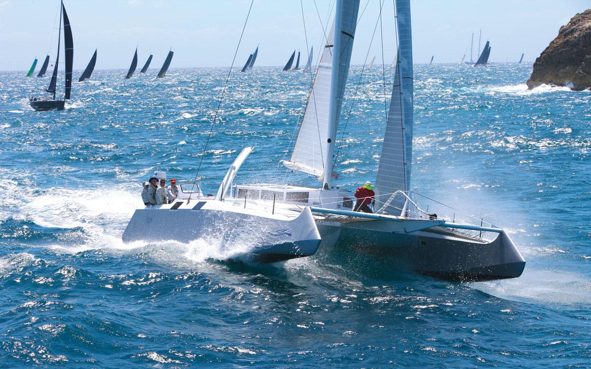fujin-catamaran-rorc-caribbean-600-running-shot-credit-tim-wright