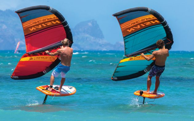Naish inflatable wing-surfer: The crazy water toy you didn't know you needed