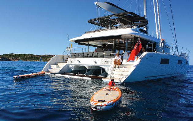 Sardinia charter: Living the high life on a crewed Lagoon 620