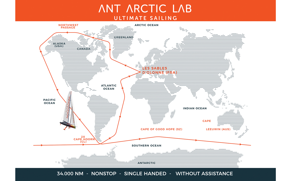 AAL: The volcanic yacht aiming for a fossil-free circumnavigation