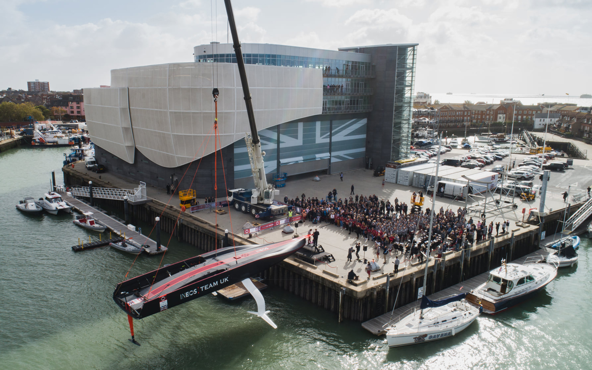 ineos-team-uk-britannia-launch-ac75-test-boat-credit-harry-kh