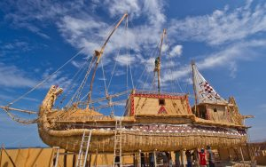 Viracocha-III-chilean-reed-boat-credit-andrew-dare