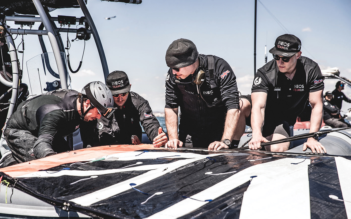 Road to the America's Cup podcast episode 3: How the AC75's soft wingsails work