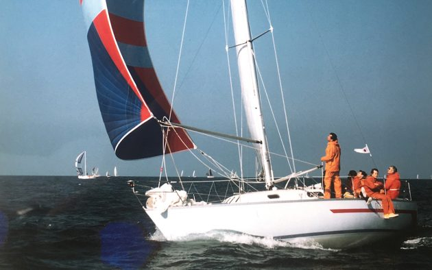 Innovation, an OOD 34, was one of the competitors in the 1979 Fastnet Race
