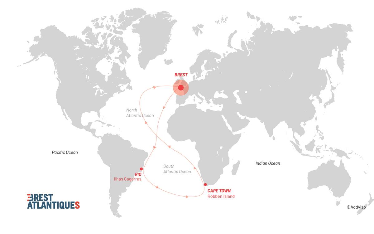 brest-atlantiques-trimaran-race-map