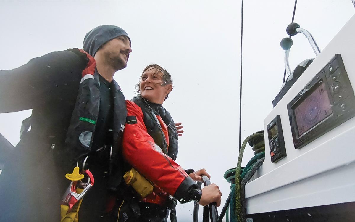 greta-thunberg-atlantic-sailing-la-vagabonde-helm-credit-Elayna-Carausu