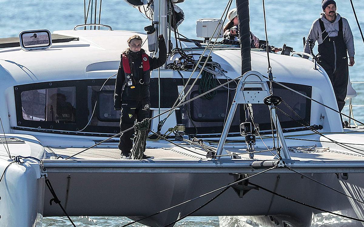 greta-thunberg-atlantic-sailing-la-vagabonde-lisbon-arrival-credit-carlos-costa-getty-images
