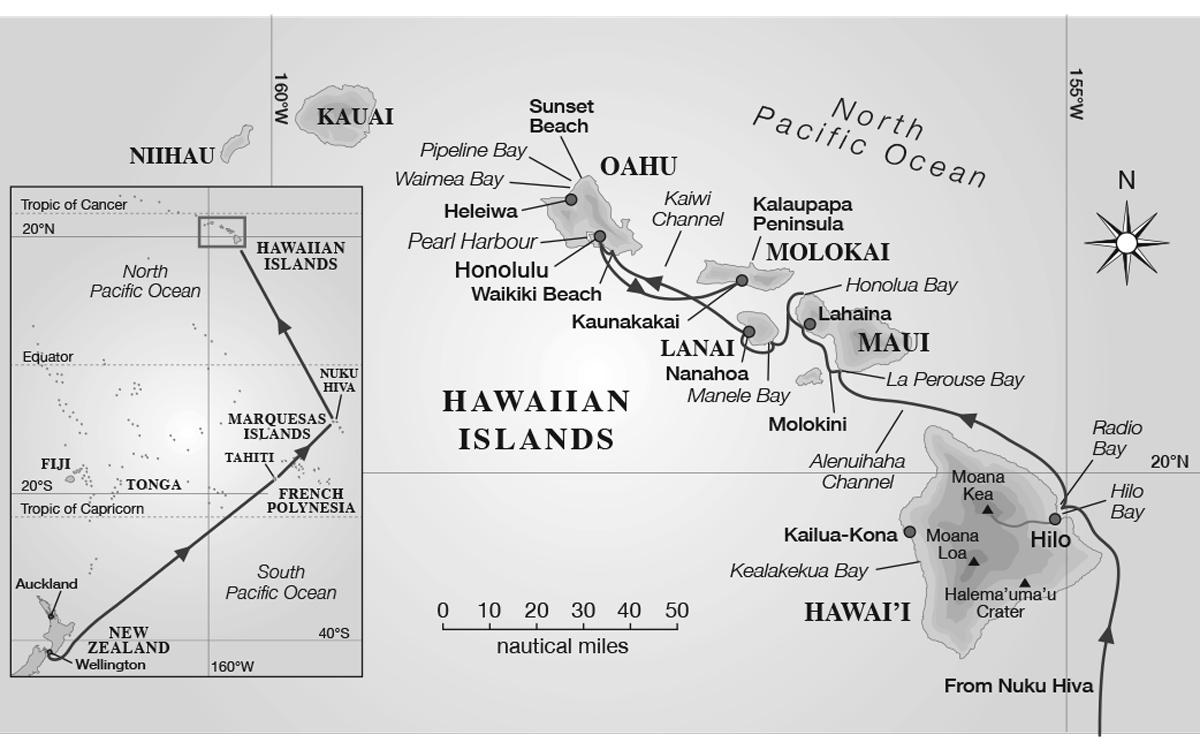 sailing-hawaii-map