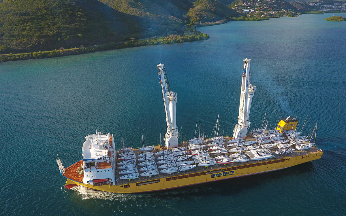 yacht-shipping-sevenstar-Martinique-aerial-view-credit-Drone-Caraibes