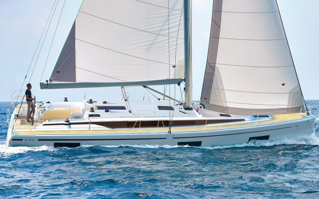 Bavaria-yachts-C42-running-shot