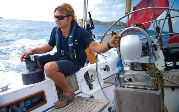 Dan Bower has sailed more than 300,000 miles