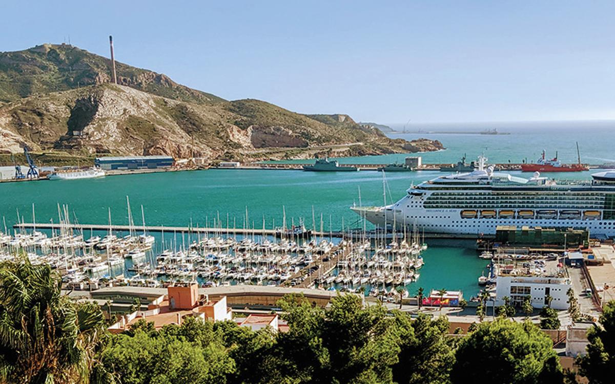 méditerranée-voile-cartagena-port-espagne