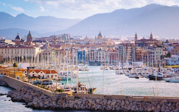 Sicily is popular among both liveaboard and visiting cruisers, with international flights via Palermo. Photo: Andrew Peacock / Getty