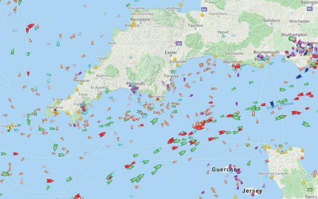 new-fastnet-course-english-channel-ais
