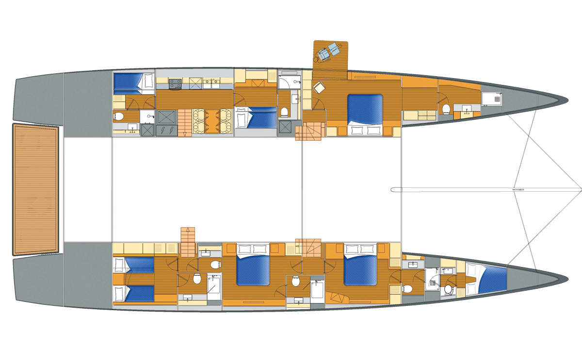 southern-wind-performance-catamaran-90-concept-layout