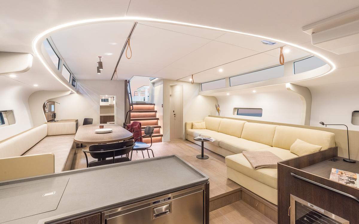 , Y7 de Hanse Yachts |Un puissant croiseur en carbone de 70 pieds