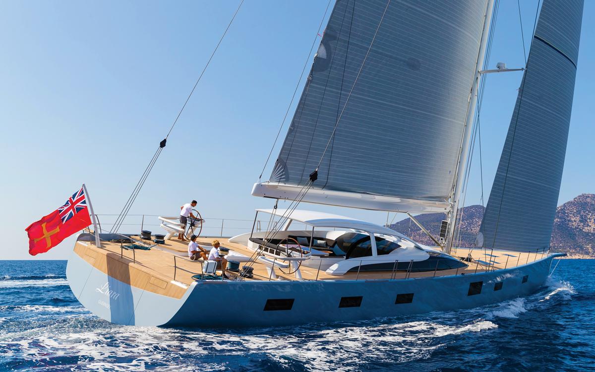 Le Superyacht Baltic 112 conçu pour naviguer dans le confort