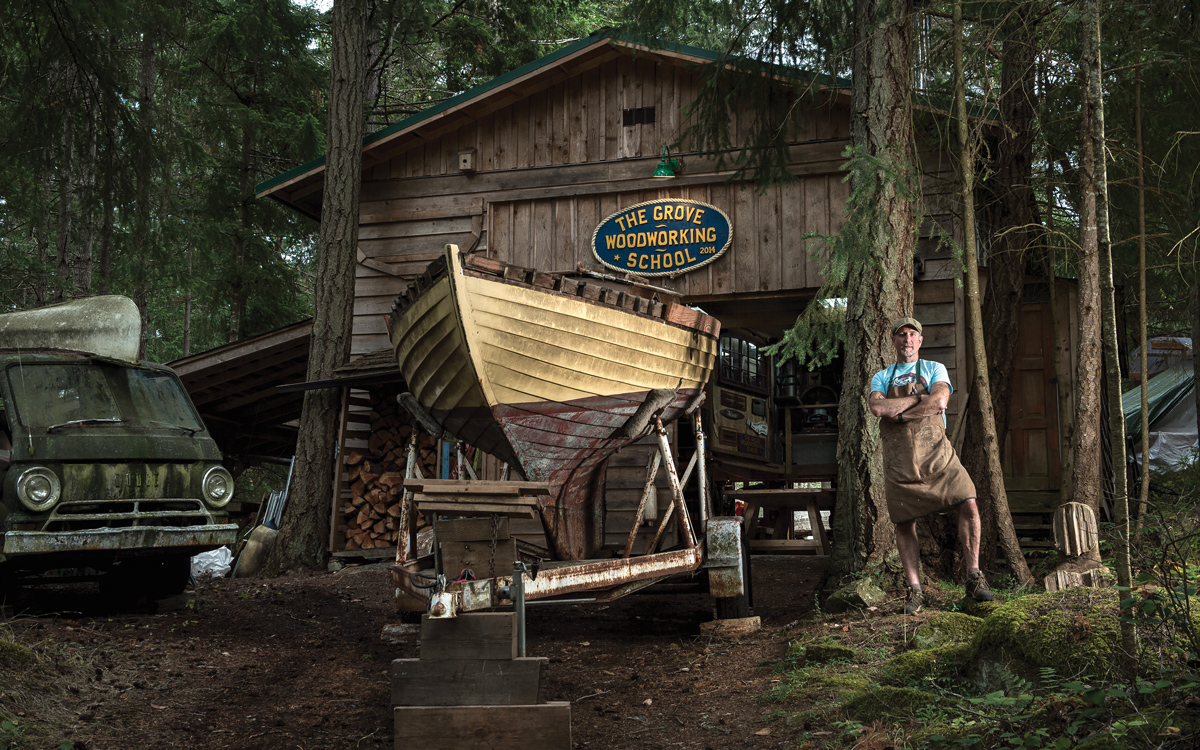 Hidden talents: Inside the traditional boatbuilding yards of British Columbia