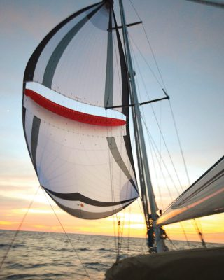 zero-carbon-cruiser-jimmy-cornell-Parasailor-spinnaker-arc-2013