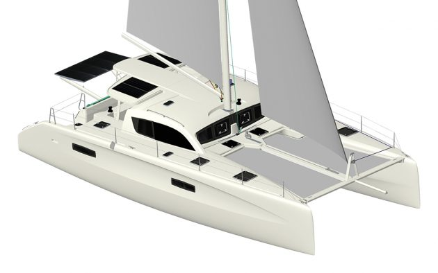 Cornell's new boat will be based on the Outremer 45