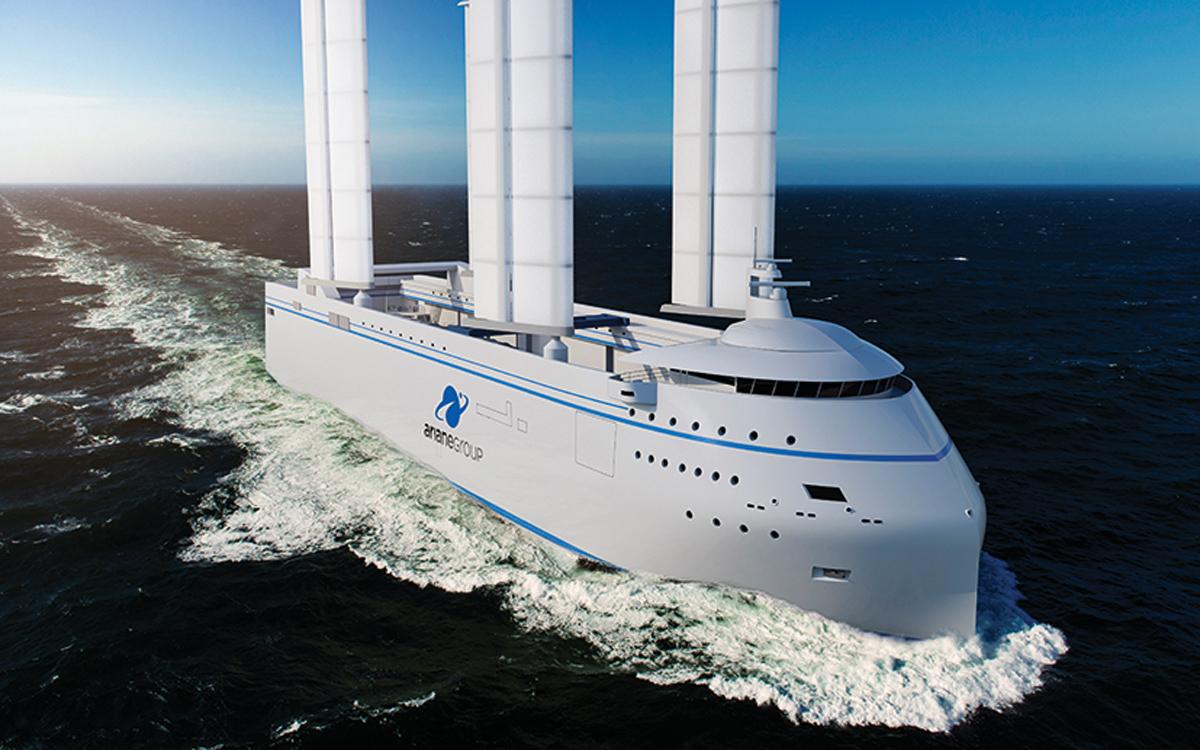 VPLP-Yacht-Design-Marc-Van-Peteghem-profile-Canopée-cargo-ship-concept