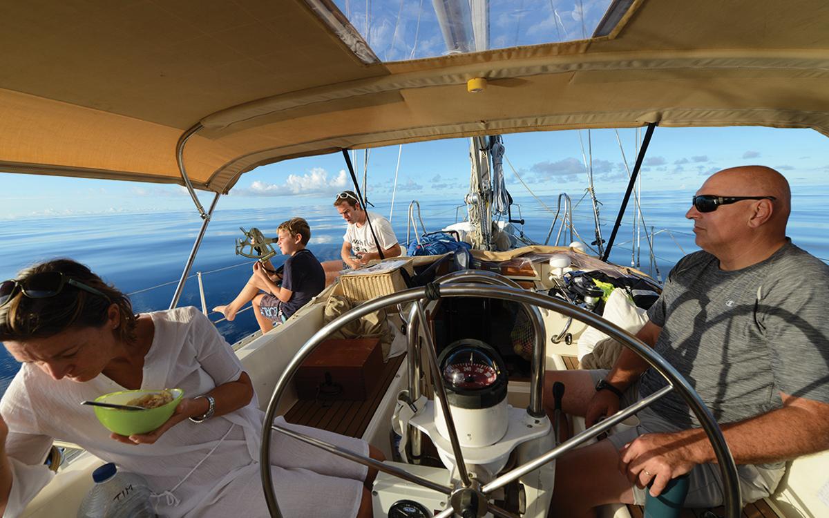 bluewater-sailing-preparation-island-packet-40-cockpit