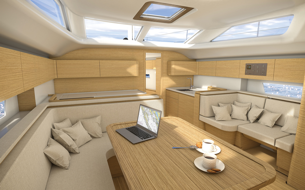 Un chantier slovène va lancer le premier voilier conçu par Porsche