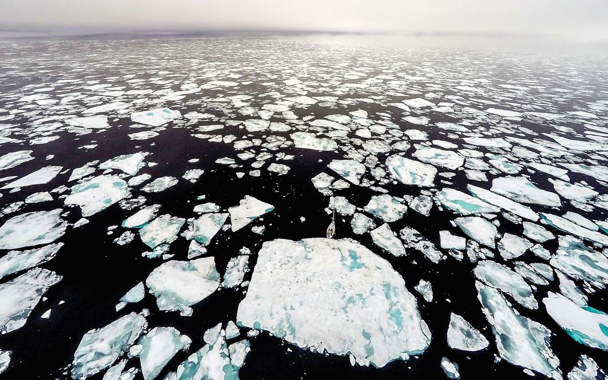 barba-project-freediving-norway-ice-floe-aerial-view-credit-Jon-Grantangen