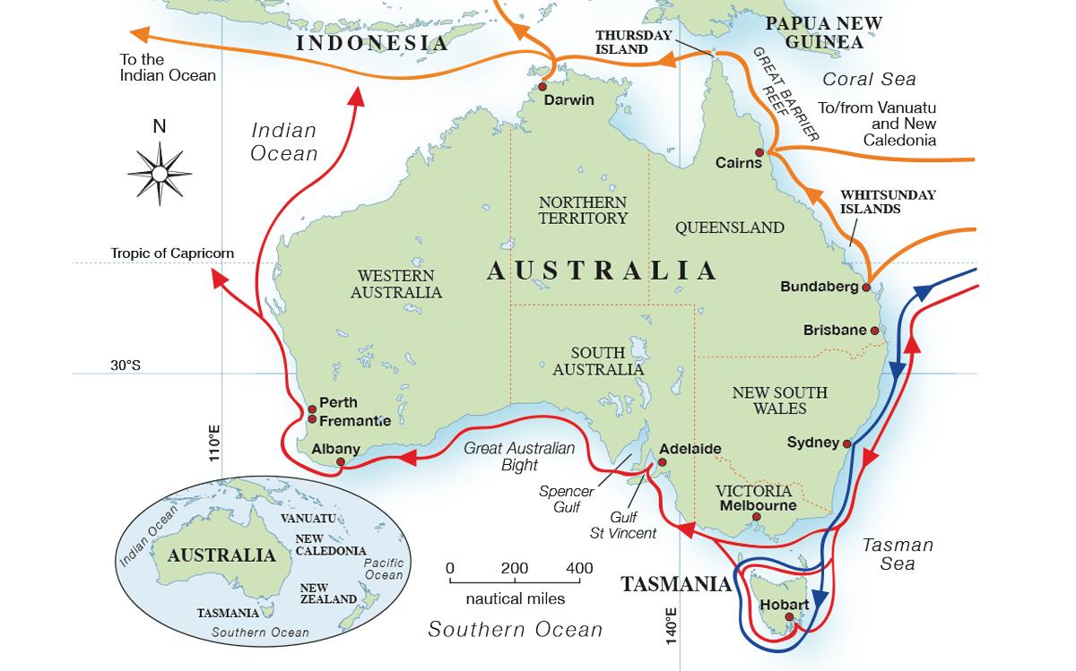 cruising-australia-map