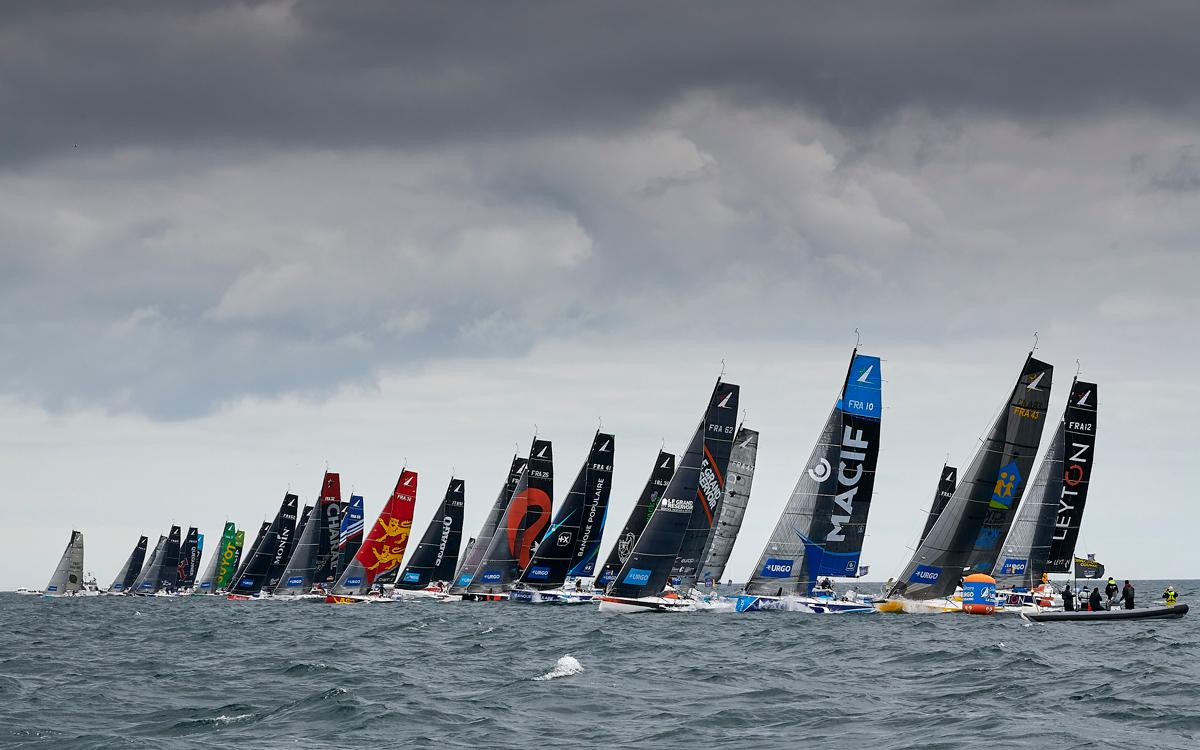 figaro series 2019 toughest sailing race fleet credit yvan zedda.