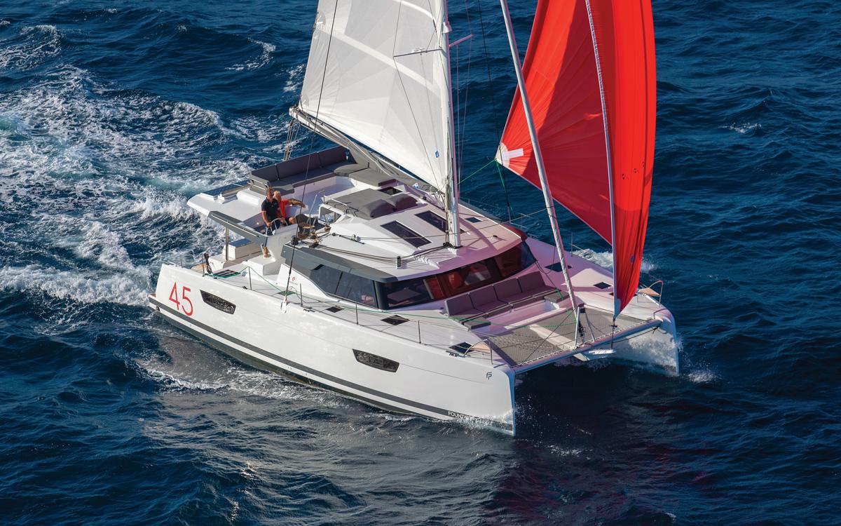 fountaine-pajot-45-catamaran-yacht-review-spinnaker-credit-Gilles-Martin-Raget