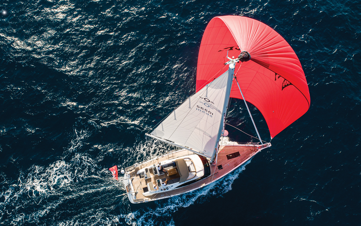 2019-arc-survey-sail-handling-Oyster-565-aerial-view-credit-Brian-Carlin