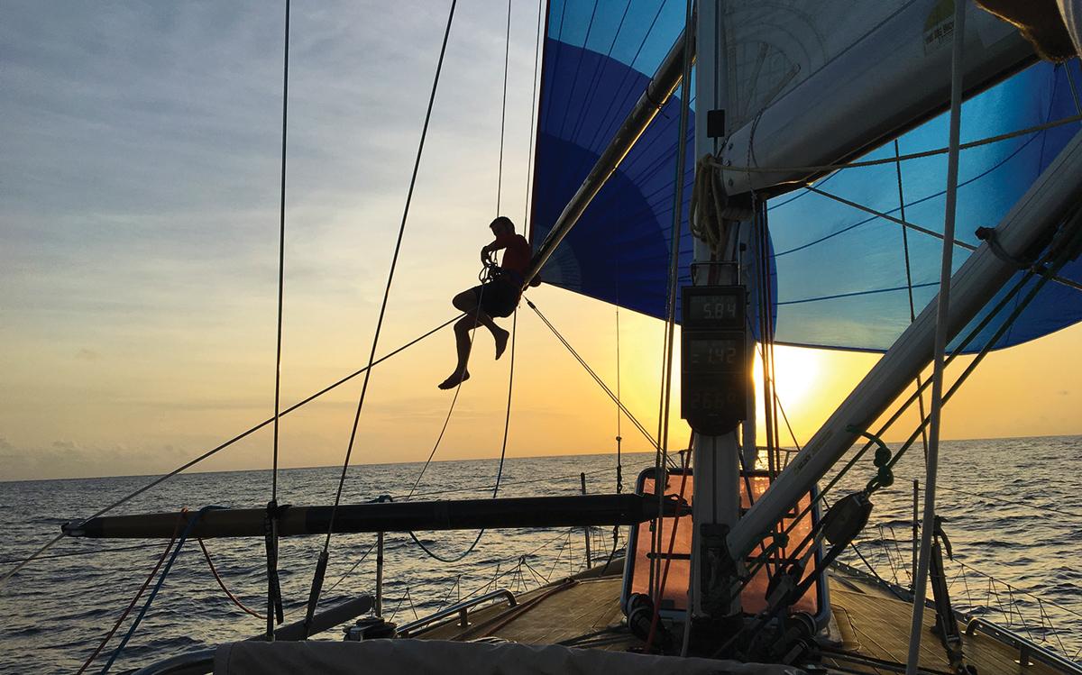 2019-arc-survey-sail-handling-Scarlet-Oyster-spinnaker-credit-Jules-White