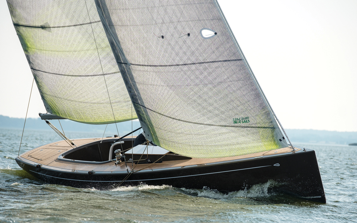 Cork Decks And Electric Propulsion Make The Flax 27 The Most Eco Friendly Yacht