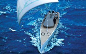 Ice-Kite-superyacht-running-shot-bow-credit-red-yacht-design