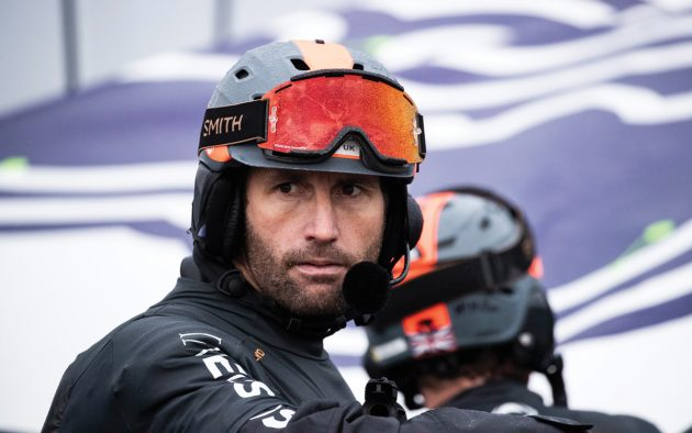 America's Cup: Ainslie sails his AC75