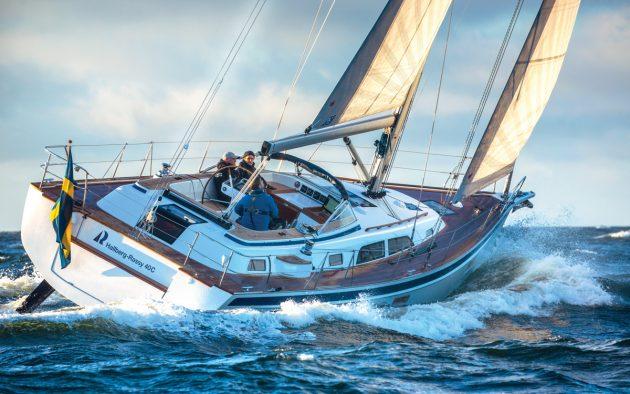 hallberg-rassy-40c-yacht-test-aft-running-shot-credit-Richard-Langdon