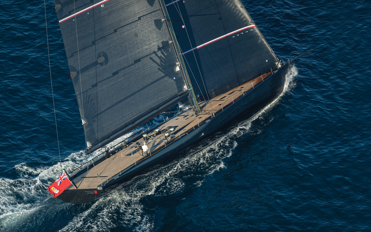 Wallycento-superyacht-Tango-aerial-view-credit-Wally-Gilles-Martin-Raget