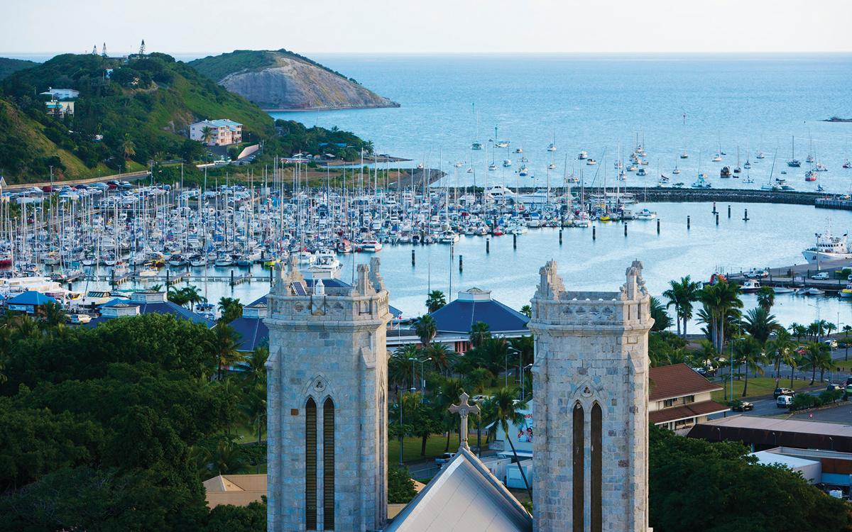 croisière-nouvelle-calédonie-îles-du-pacifique-Nouméa-Port-Moselle-cathédrale-crédit-Oliver-Strewe-Getty