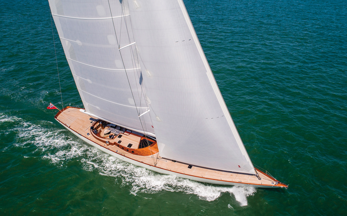 Spirit 111: This sailing art gallery is one of the most sensational yachts ever built