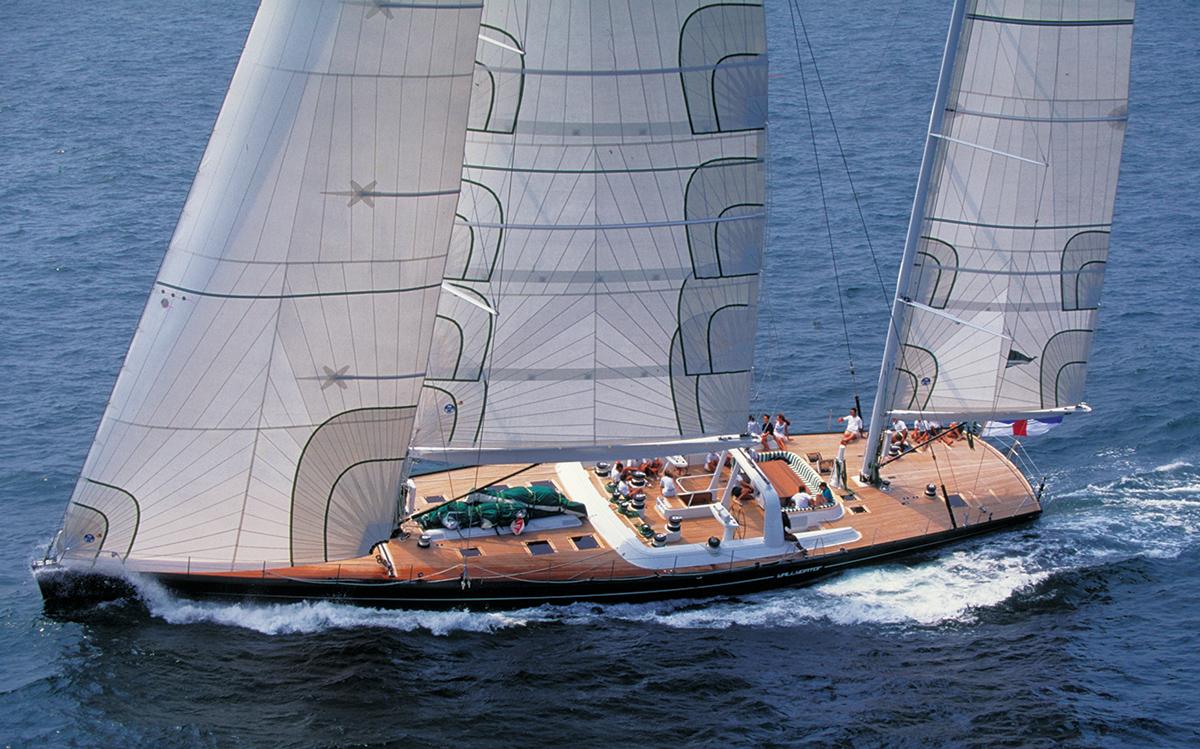 yacht-designer-luca-bassani-Wally-33m-1994-Nariida-ex-Wallygator-credit-Guy-Gurney